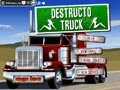 Destruction truck