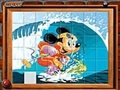 Sort my tiles Mickey surfing