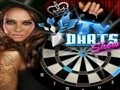 Viewing TV darts