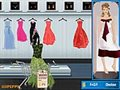 Shop N dress make matching game: flower dress