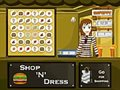Shop N dress food roll game: Ginger and smart