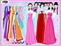Gown and robe Dressup