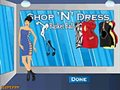 Shop N dress basket ball game: Rock girl dress
