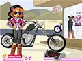 Biker Betty Dressup