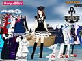 Tandy sailor girl Dressup game