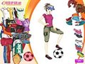 Sporty girl Dressup