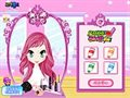 Hairstyle of makeover 2